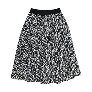 Wave Cotton Skirt