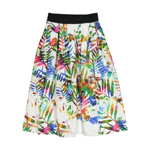 Tropical Cotton Skirt