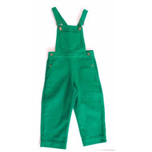 Boy & Girl Green Trousers Dungarees