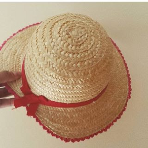 Girl Sunset Straw Hat
