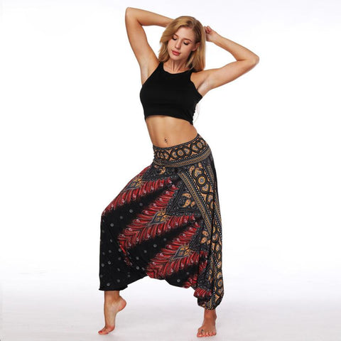 "Image of Pantalon de Yoga ""Zen Confort"""