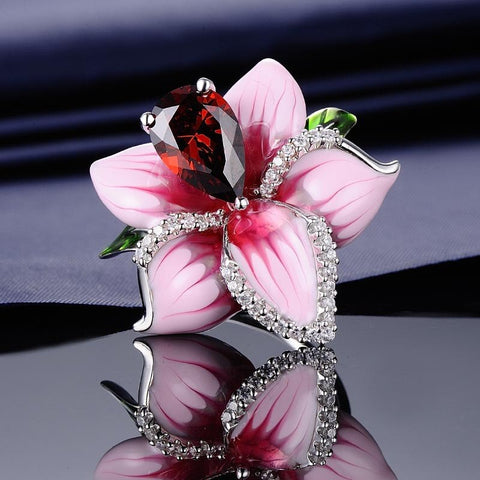 Image of Bague Flower Zen