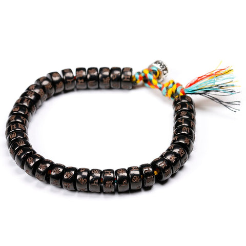 "Image of Bracelet Style Tibétain ""Natural Mantra"""