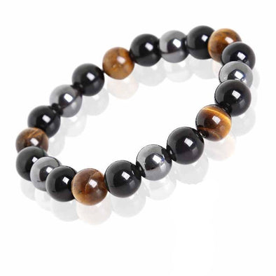 Bracelet Tripple Protection - Bouddha-Zen