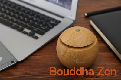 "Image of Humidificateur Portable ""Zen"" à Ultrason - Bouddha-Zen"