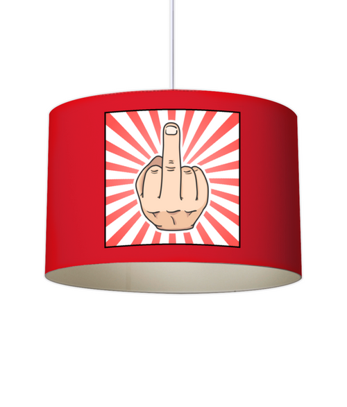 MIDDLE FINGER Lampshade