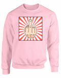 MIDDLE FINGER Sweatshirt