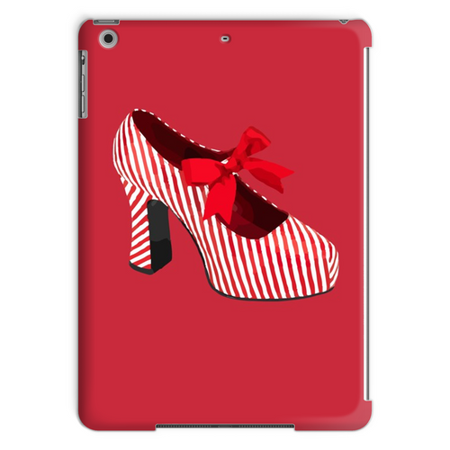 CANDY STRIPED SHOE Tablet Case