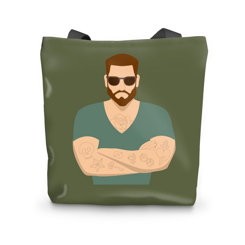 BUTCH TATTOO Beach Bag