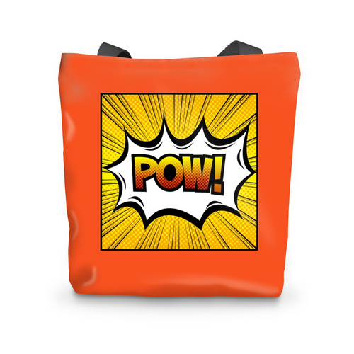 CARTOON POW Beach Bag