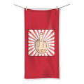 MIDDLE FINGER Beach Towel