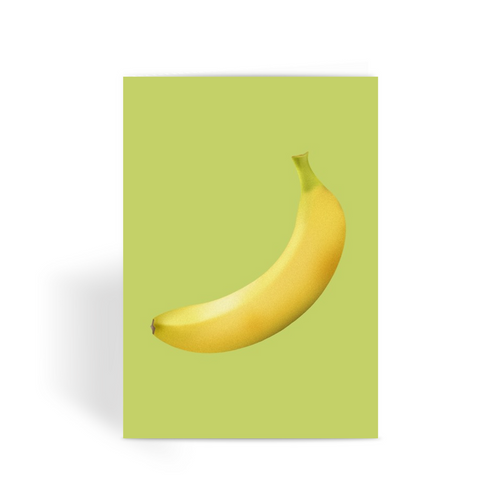BANANA Greeting Card
