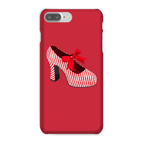 CANDY STRIPED SHOE Phone Case