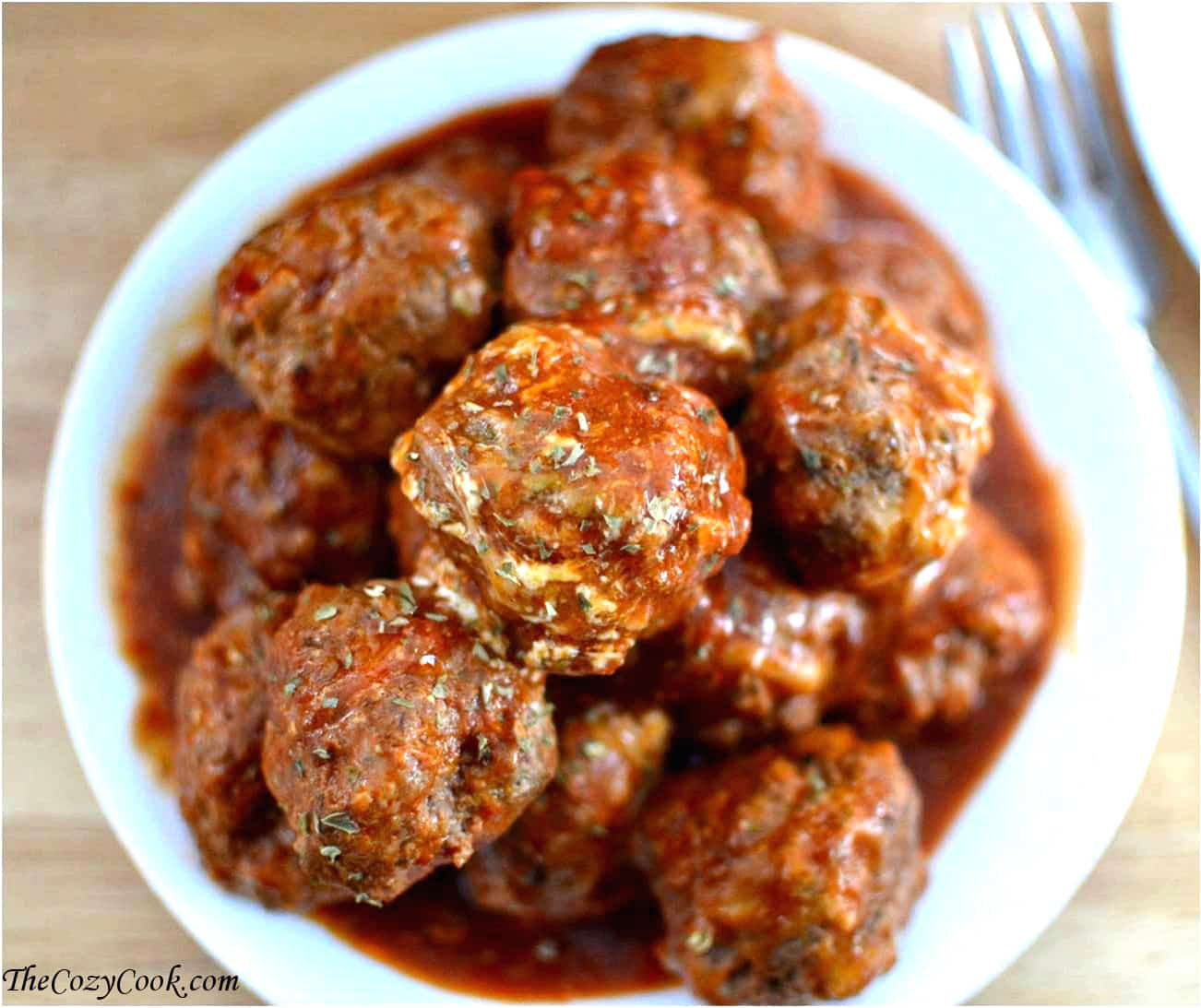 Bobby Flay's Meatball and Sauce Recipe