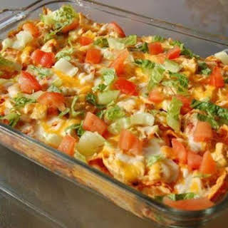 Cheesy Chicken Mexican Doritos Casserole