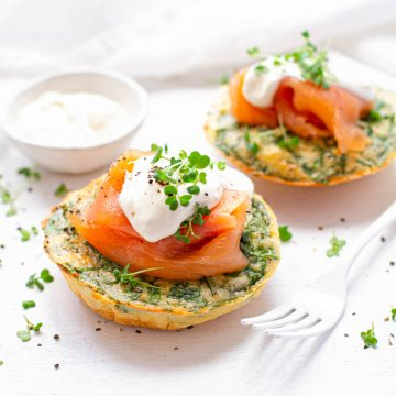 Huon Smoked Salmon Mini Frittatas