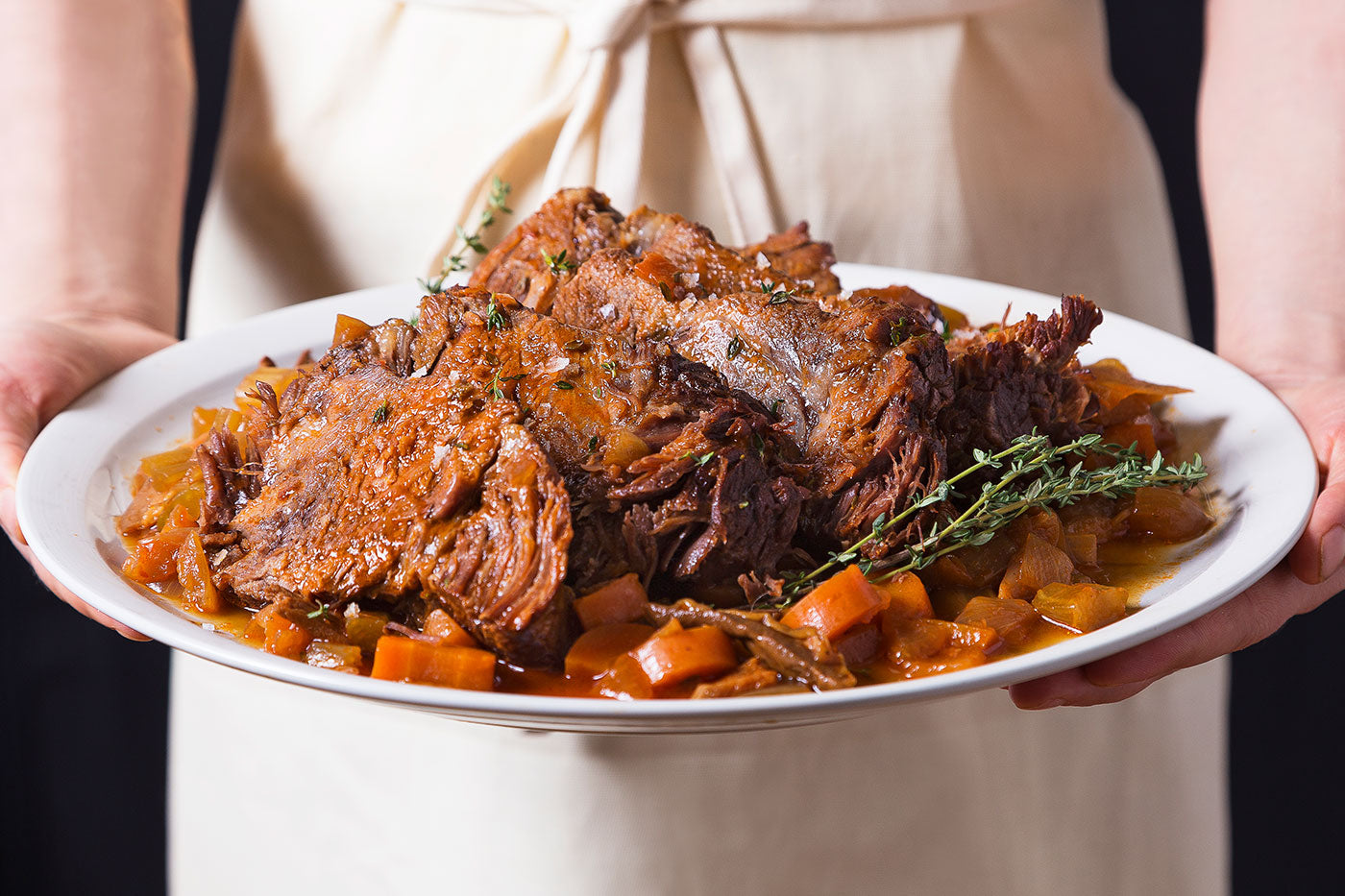 Instant Pot Roast - Cook a 4-pound roast in an hour