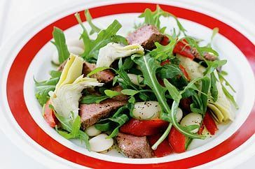 Lamb and Butterbean Salad