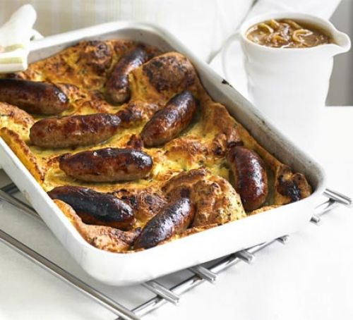 Toad in the Hole in 4 Easy Steps