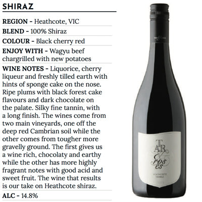 12 bottles Tar & Roses, Shiraz 2016 - Farmers Market Limited