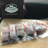 2 x Fresh Barramundi Fillets approx. 180-220gm each