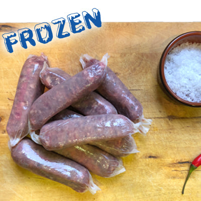 FROZEN 100% Angus Beef Sausages 8 pack - Farmers Market Limited