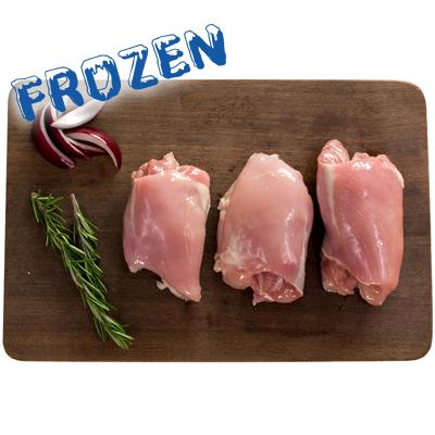 FROZEN 2 x Free Range Chicken Thigh - 600-700gm - Farmers Market Limited