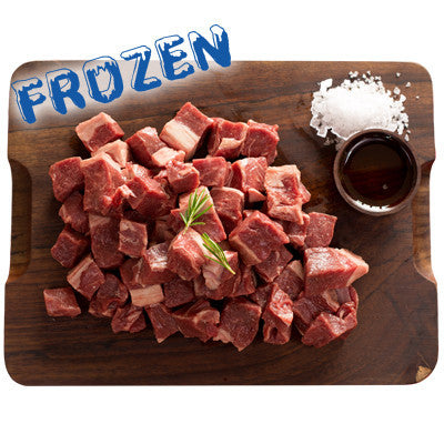 FROZEN Diced Lamb pack - 1kg - Farmers Market Limited