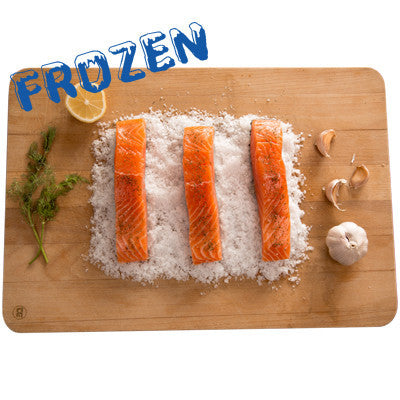 FROZEN Portioned Salmon - 5 x 150-180gm