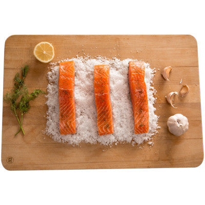 Fresh Portioned Salmon - 5 x 150-190gm - Farmers Market Limited