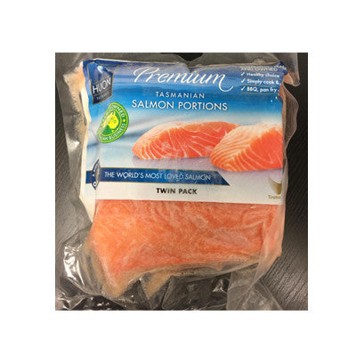 Portioned Salmon 2 x 190gm plus pieces - Farmers Market Limited