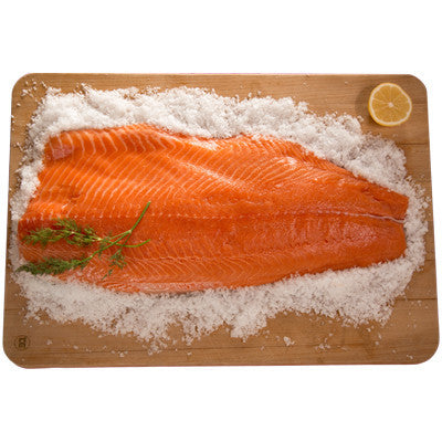 Fresh Whole Fillet of Salmon approx 1.2kg-1.5kg - Farmers Market Limited