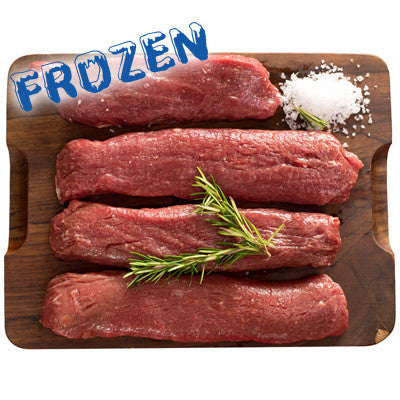 FROZEN Lamb Eye of Loin (Backstrap) - 800gm-1kg Pack - Farmers Market Limited