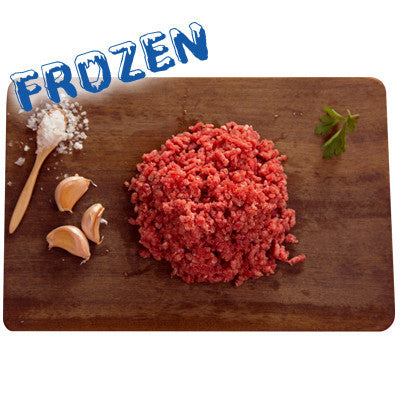FROZEN Lean Beef Mince - 4 x 500gm packs ($125 per pack) - Farmers Market Limited