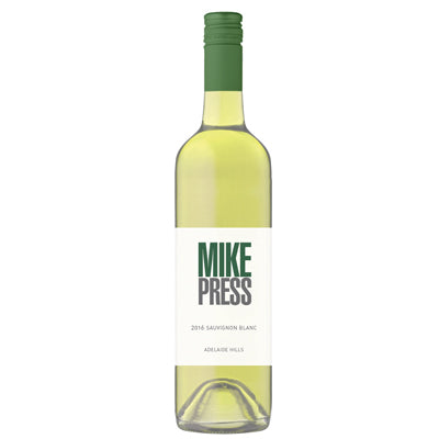 12 bottles Mike Press Sauvignon Blanc 2016 - Farmers Market Limited