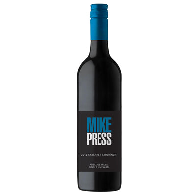 12 bottles Mike Press Cabernet Sauvignon 2016 - Farmers Market Limited