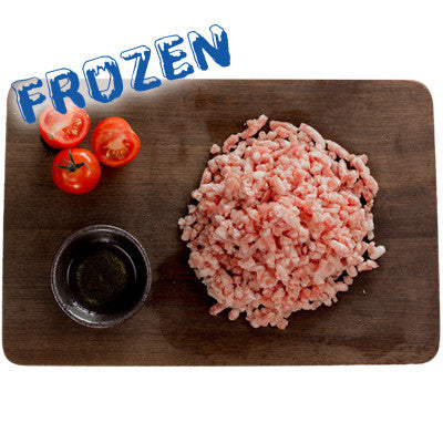 FROZEN Lean Pork Mince - 1 x 500gm bag - Farmers Market Limited