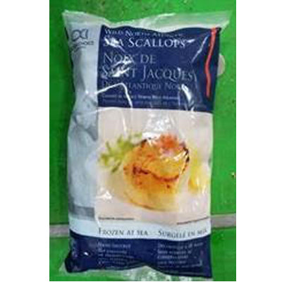 Frozen - 1kg pack of Wild ClearWater Scallops from Canada - Farmers Market Limited