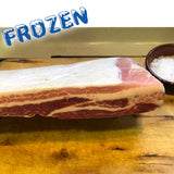 FROZEN Spanish Iberian Pork belly - 1kg - Farmers Market Limited