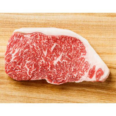 FROZEN 1 x 300gm Wagyu Sirloin (Striploin) Steak, Marble M5 - Farmers Market Limited
