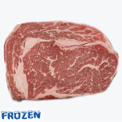 FROZEN - Wagyu Rib Eye Steak (Marble M5), 2 x 250gm
