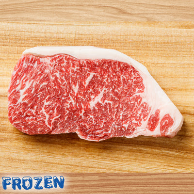 FROZEN - Wagyu Striploin Steak (Marble M5), 2 x 250gm