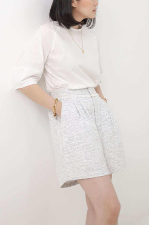 Gemma Shorts Off White - EESOME