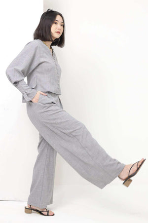 Willow Pants Charcoal - EESOME
