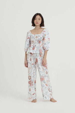 Ralph Printed Long Pants - EESOME