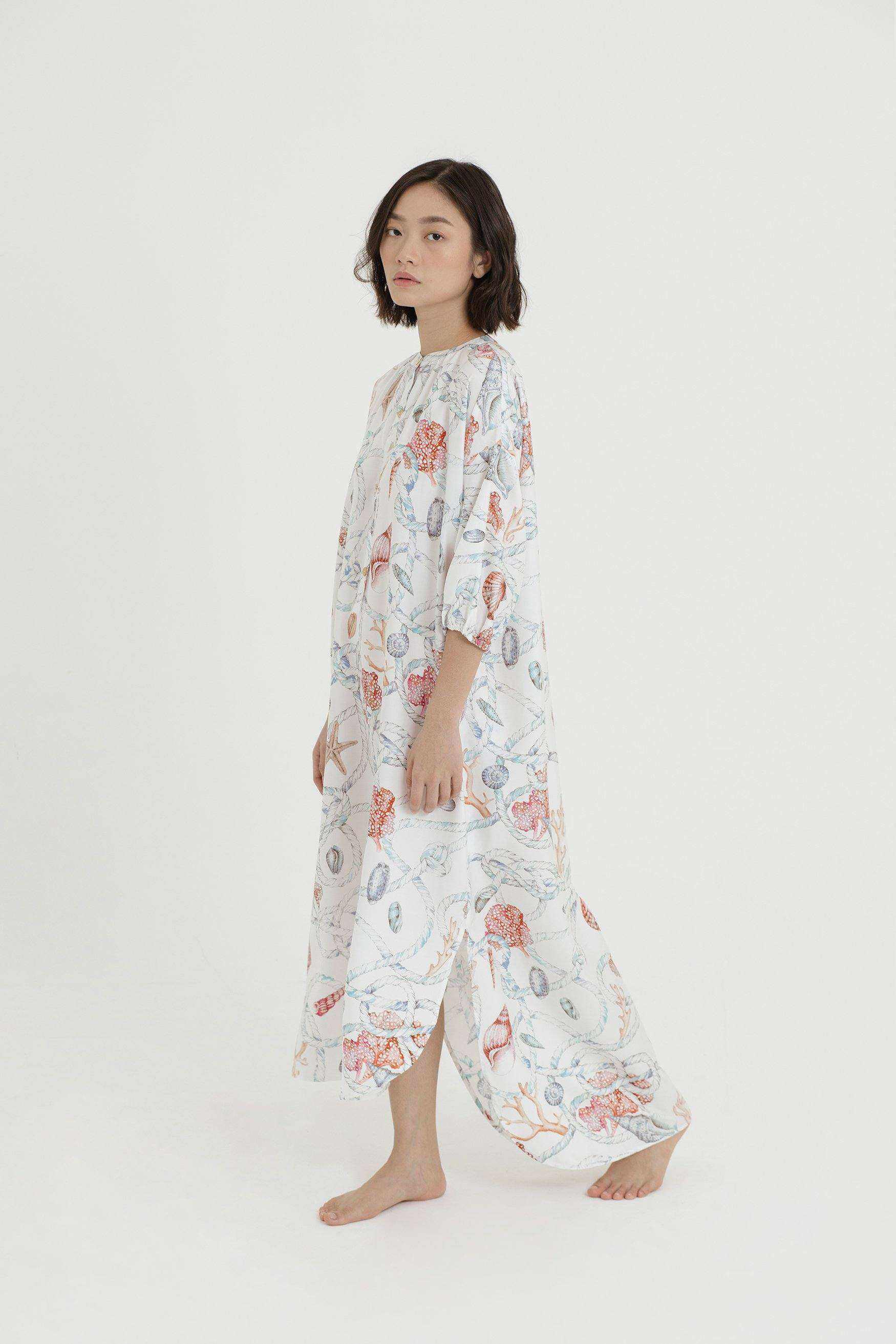 Madison Printed Dress - EESOME