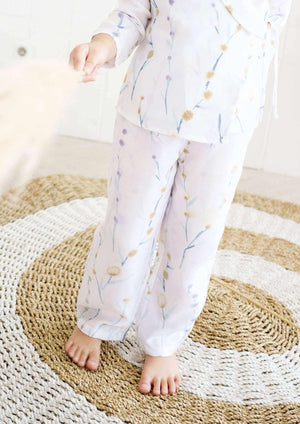 Ralph Printed Petit Long Pants - EESOME