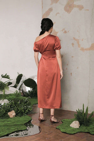 Arabelle Dress Burnt Orange EESOME