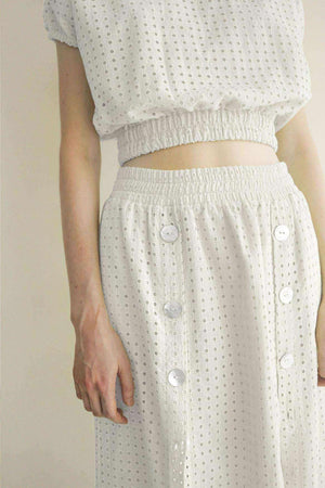 Bea Skirt Off White