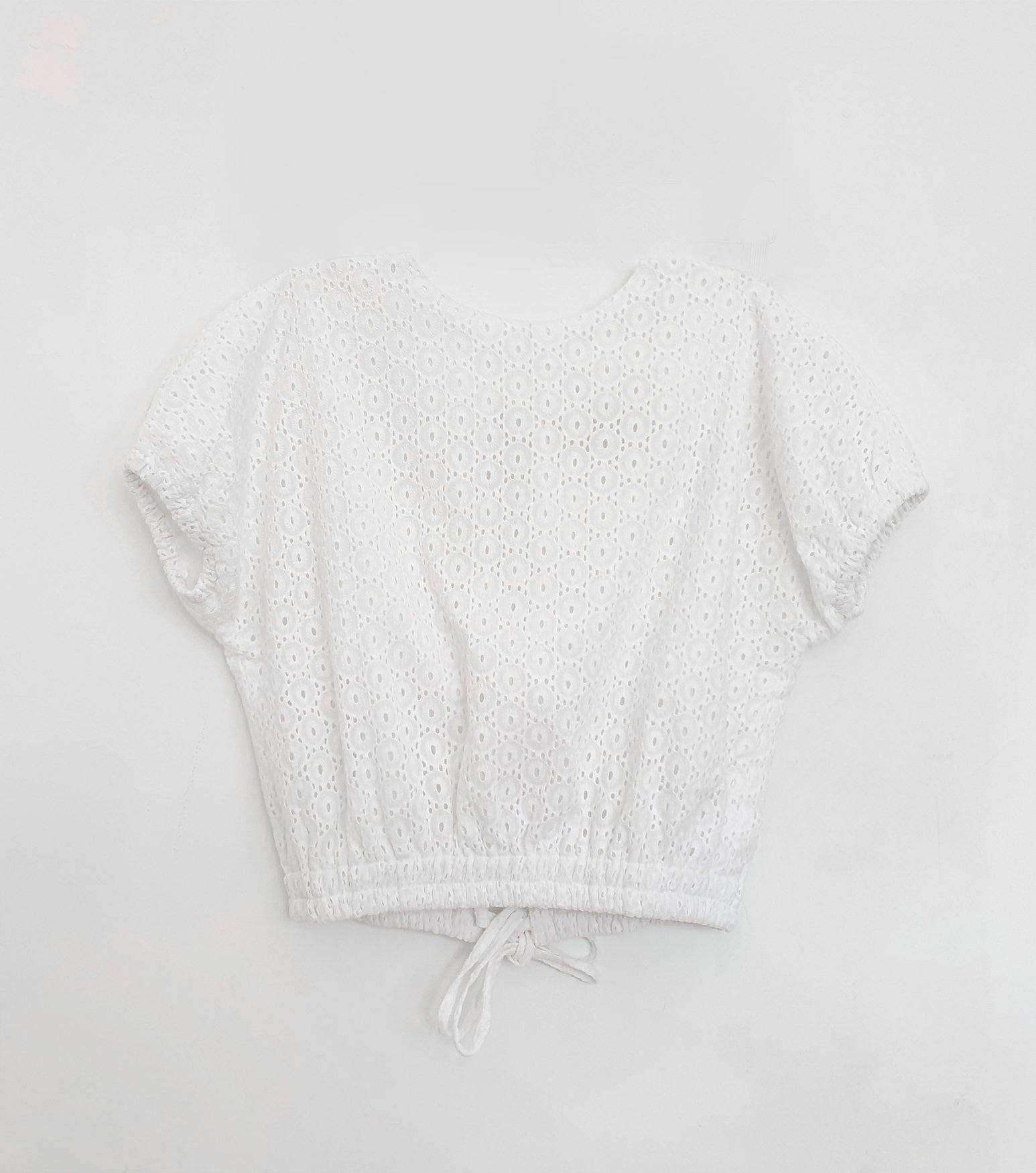Bea Top Off White